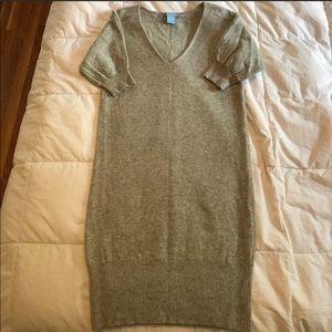 Jasmine Sola Short Sleeve Cashmere Sweater Dress